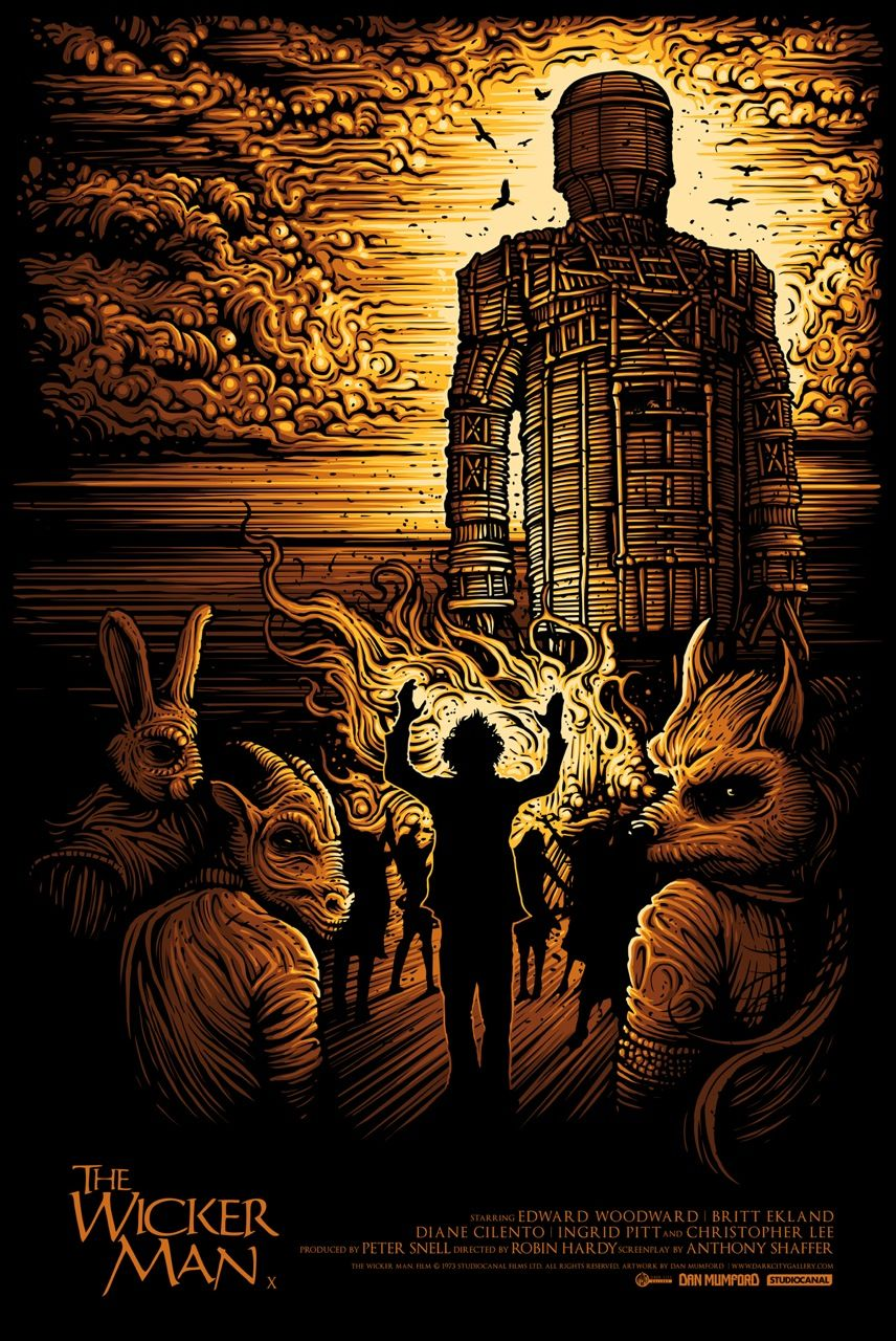 Wickerman-dan-mumford-movie-regular-inside-the-rock-poster-frame ...