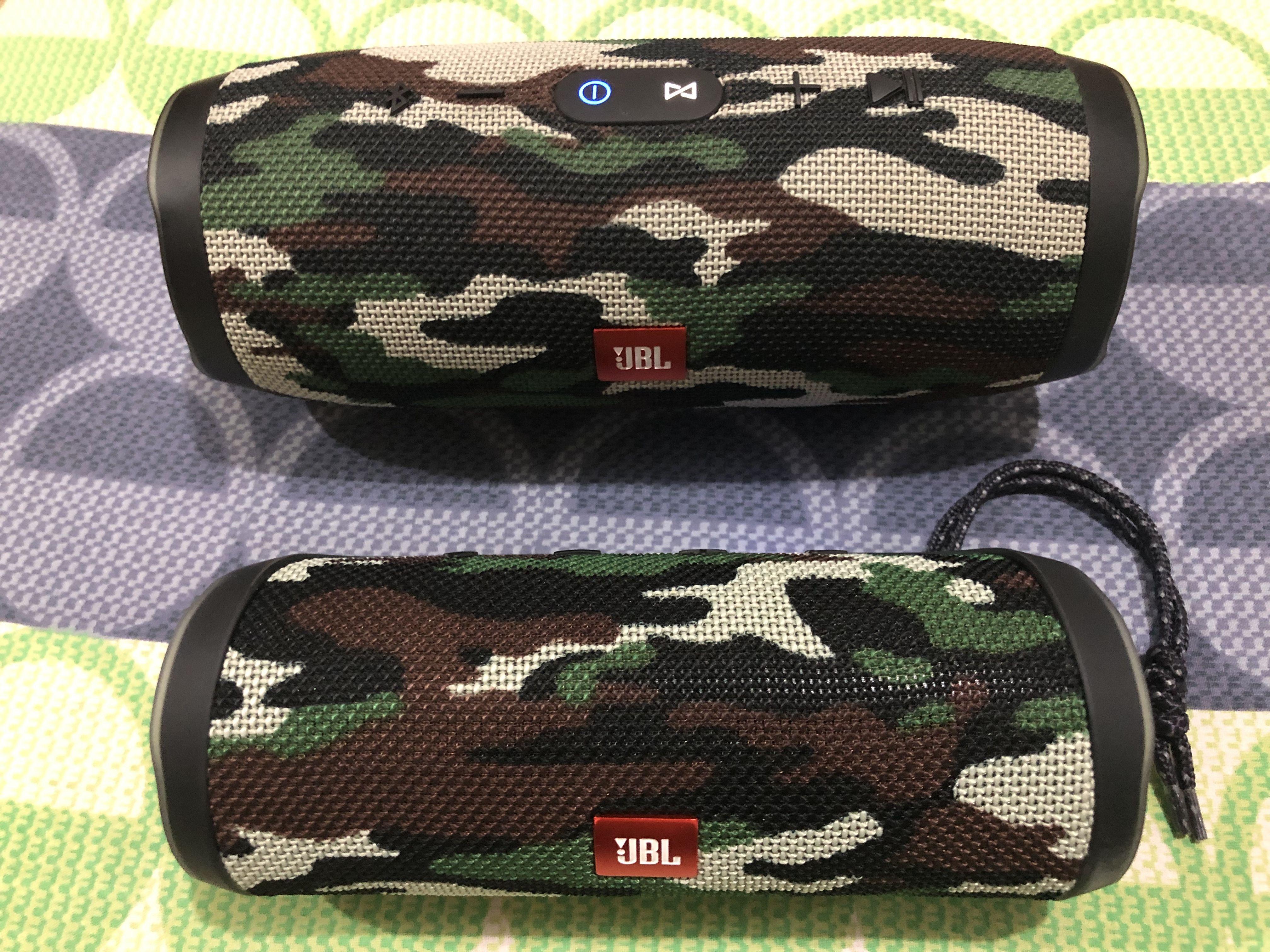 Jbl Charge 3 And Jbl Flip 4 Color Scout Bluetooth Speakers Portable Jbl Flip 4 Jbl