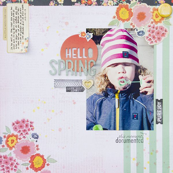 #papercraft #scrapbook #layout by Colors of Alex
