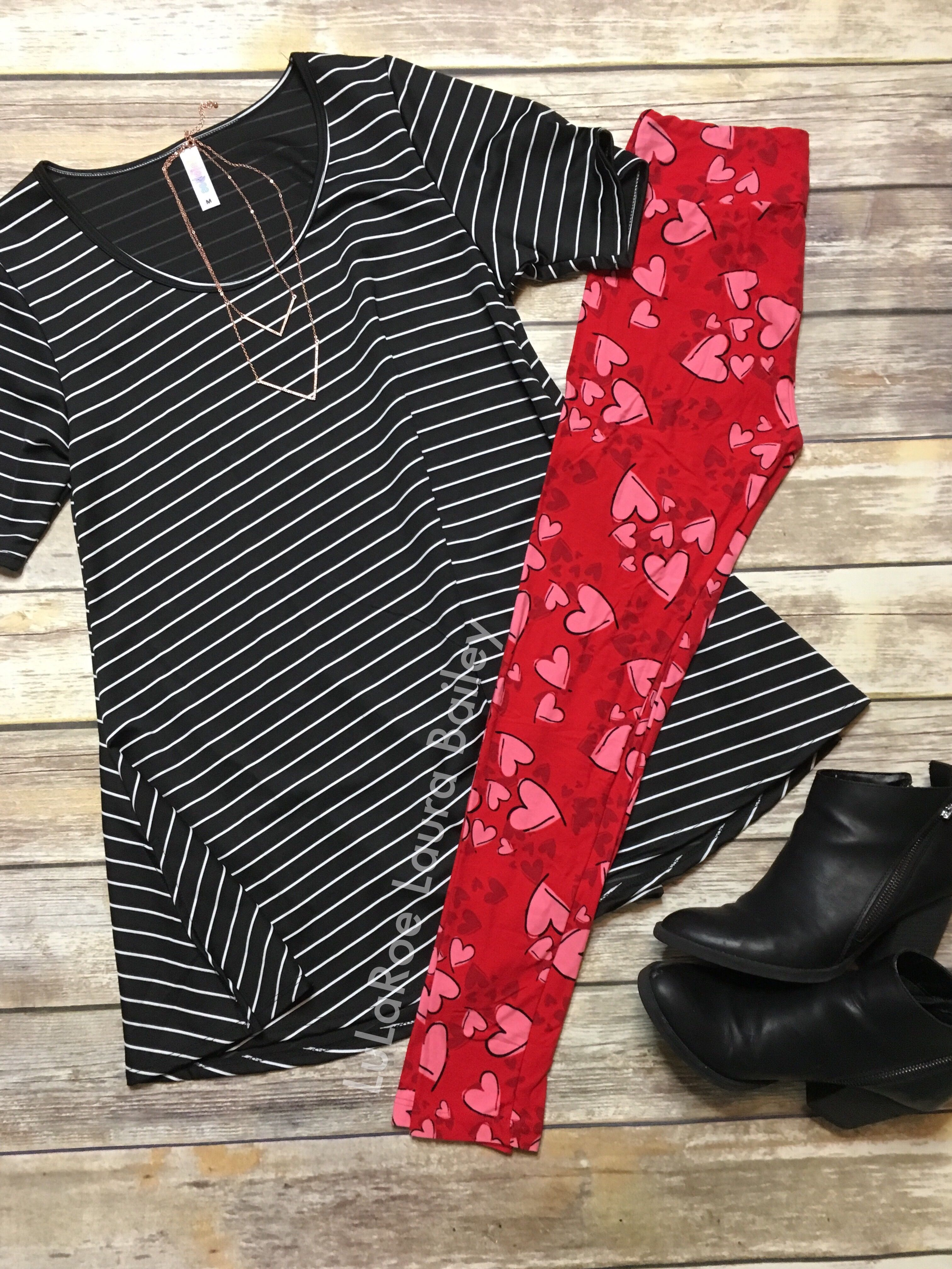 3802bb7c6dc558 Cute LuLaRoe Valentines Day outfit! | My Lula obsession in 2019 ...