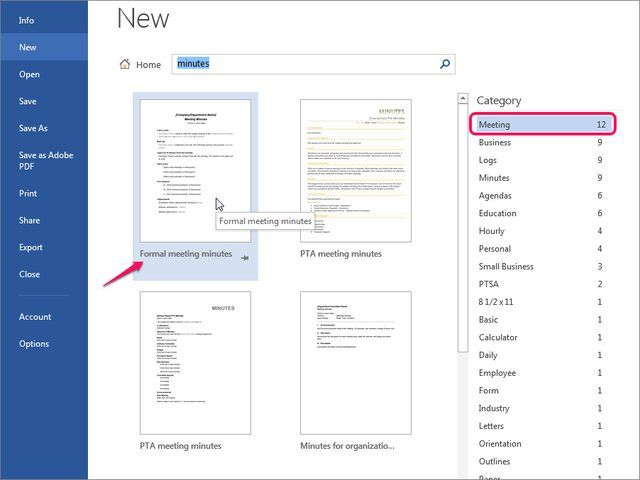 How to Organize Meeting Minutes Using Word eHow Words Of - meeting minutes word
