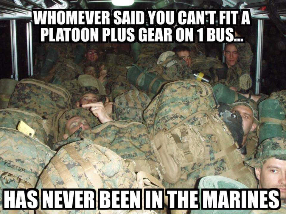 13 funniest military memes of the week You can get a whole other layer of Marines on top of that one (Via Marine Corps Memes).You can get a whole other layer of Marines on top of that one (Via Marine Corps Memes).