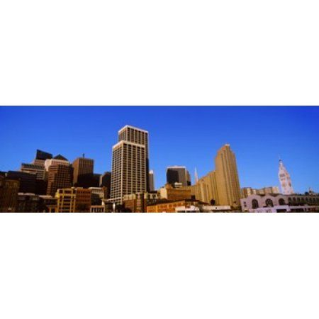 Skyscrapers in a city San Francisco California USA 2012 Canvas Art - Panoramic Images (36 x 12)