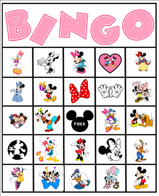 Minnie Mouse Party Ideas and Free Printables | Bingo party, Minnie ...