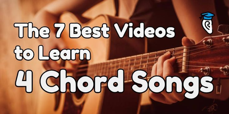 The 7 Best Videos to Learn 4-Chord Songs | Hit songs, Songs and ...