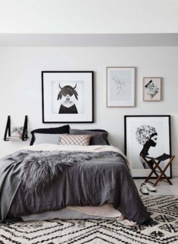 45 Scandinavian Bedroom Ideas That Are Modern And Stylish Scandinavian Design Bedroom Bedroom Interior Bedroom Design