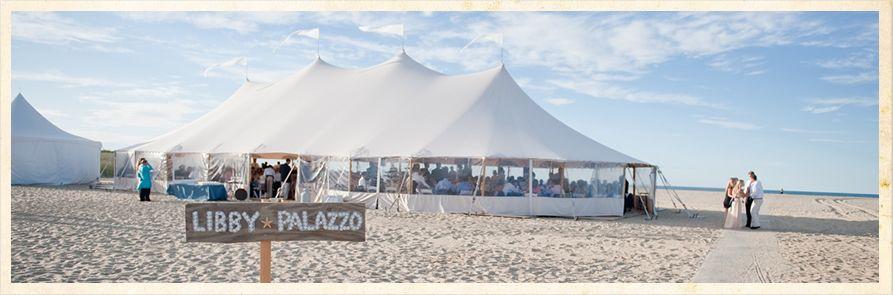 Tent In The Sand Tent Rentals Wedding Tent Tent