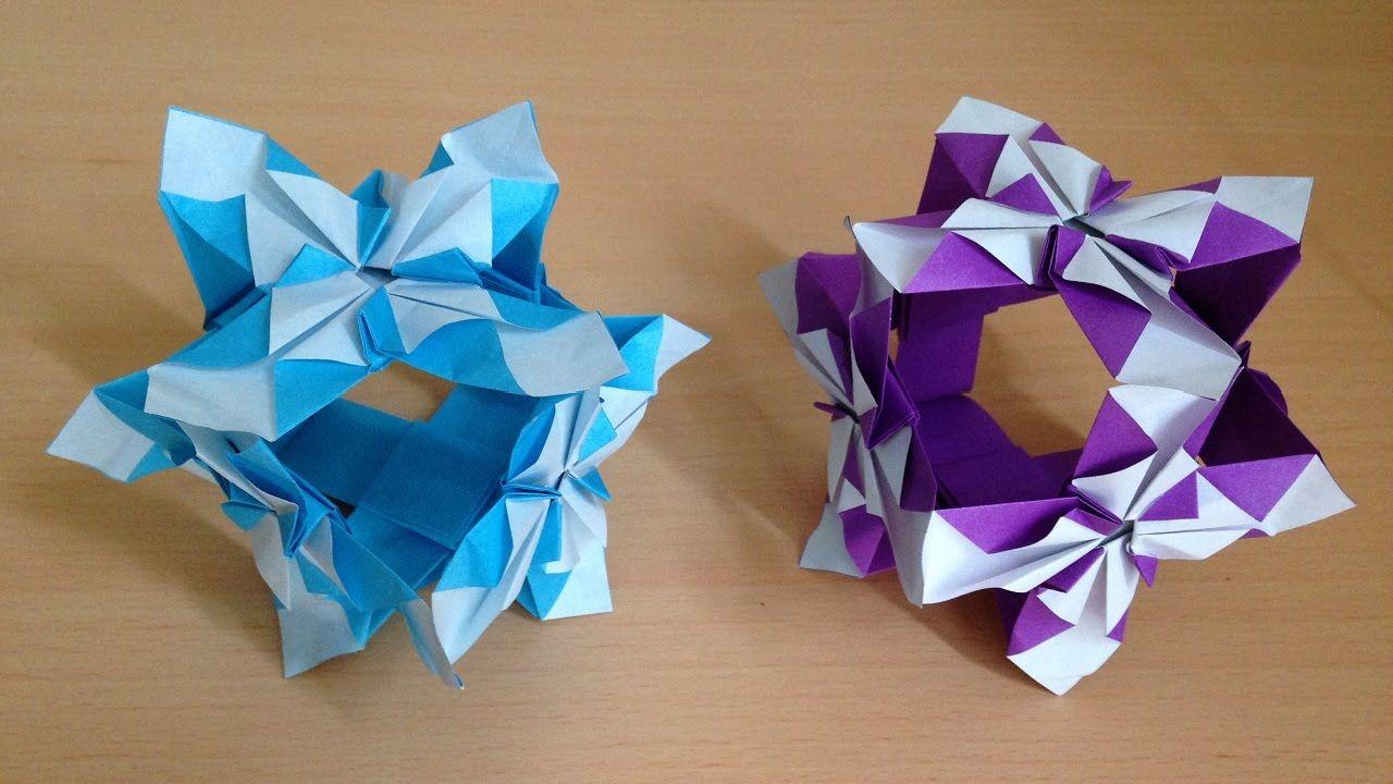 6 origami kusudama ball iris 6 origami kusudama ball iris flower 6units izmirmasajfo