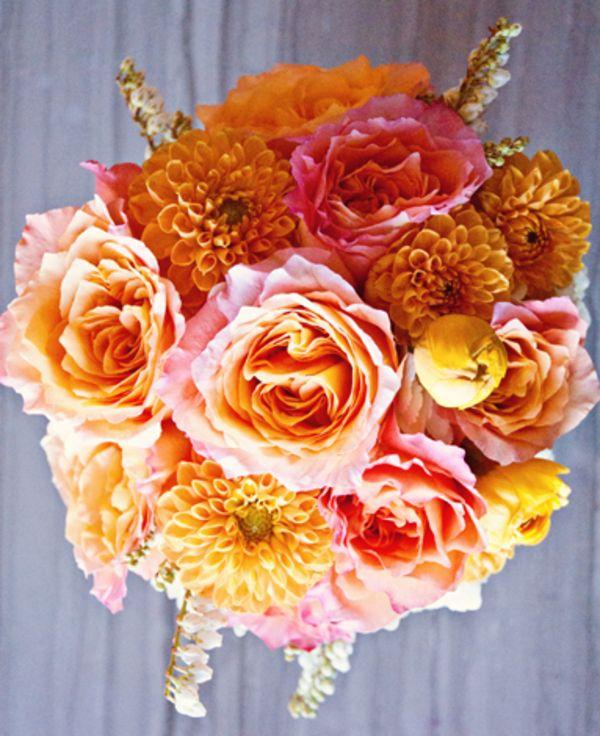 Pink & Orange bouquet