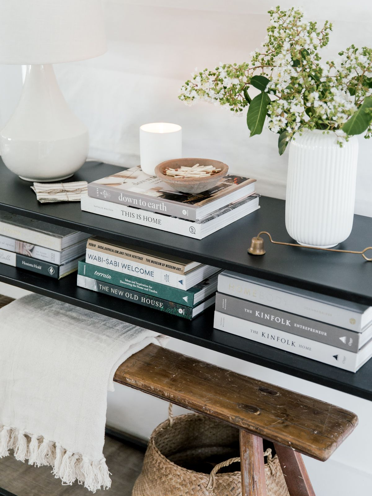 Our Small Entry Neutral Coffee Table Books Coffee Table Books Decor Coffee Table Coffee Table Books [ 1600 x 1200 Pixel ]