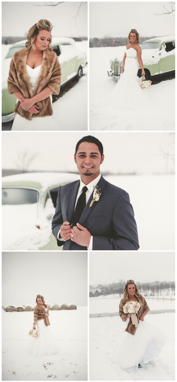 A Beautiful snowy wedding at Oklahoma wedding venue Southwind Hills ...
