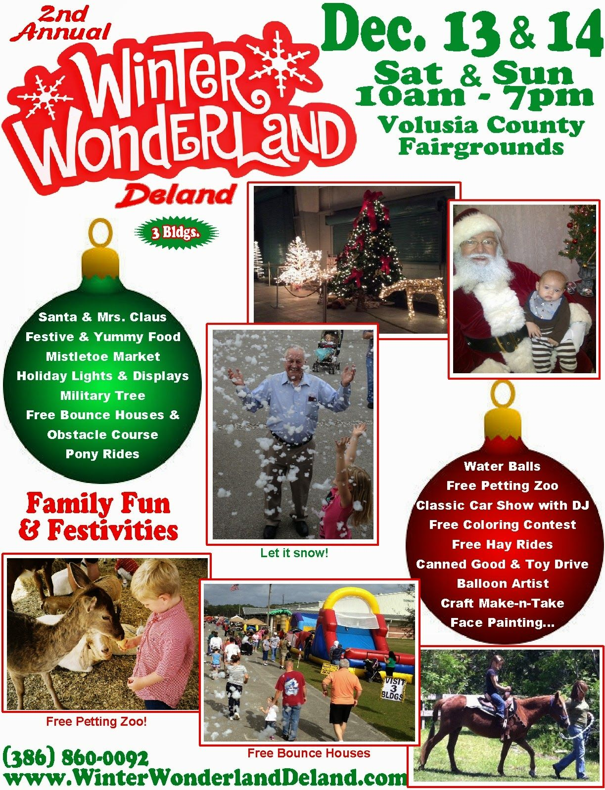 Flagler County Family Fun: Winter Wonderland Giveaway ~ 2014