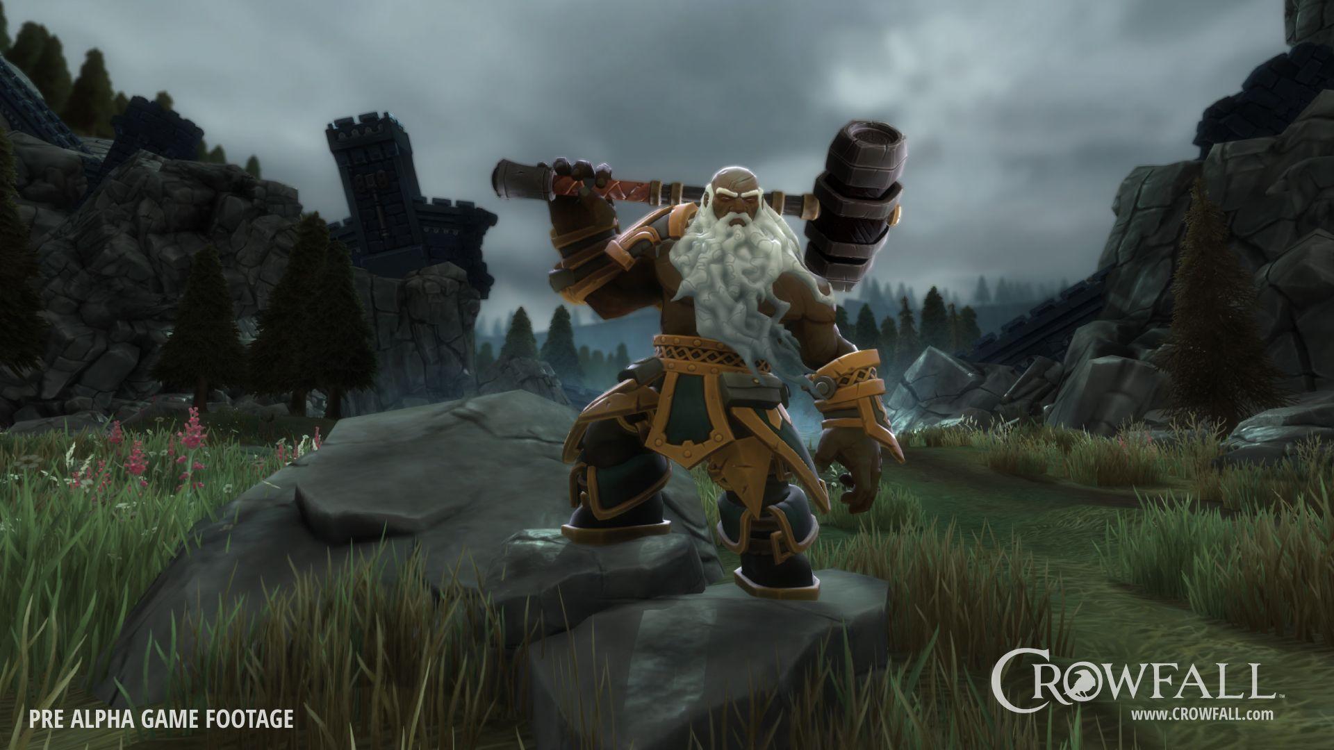 Crowfall MMO Throne War Simulator World, Universe, Pvp