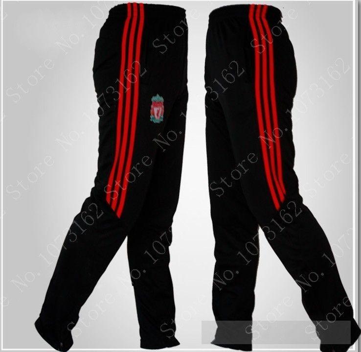 3c39832cf9 Liverpool FC Sportwear Gym Athletic Sports Men Sweatpants Boy Soccer Pants  Man Football Pants Training Sports Trouser Tights $27.50