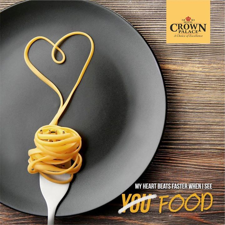 There is no Love sincerer than the Love of Food. Enjoy