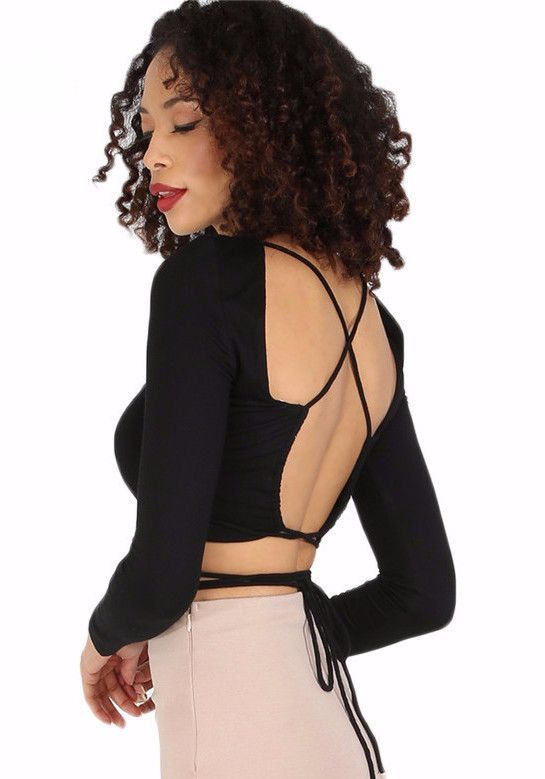 Womens Criss Cross Top