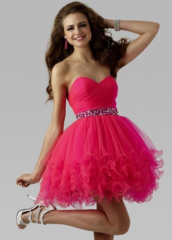 black and hot pink cocktail dress Naf Dresses | Cocktail Dresses ...