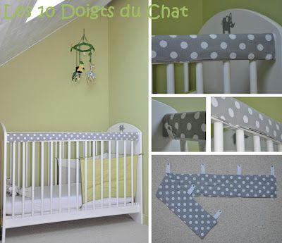 id e pour lit barreaux les 10 doigts du chat baby. Black Bedroom Furniture Sets. Home Design Ideas