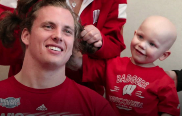 Wisconsin players go bald for good cause (Video) Going
