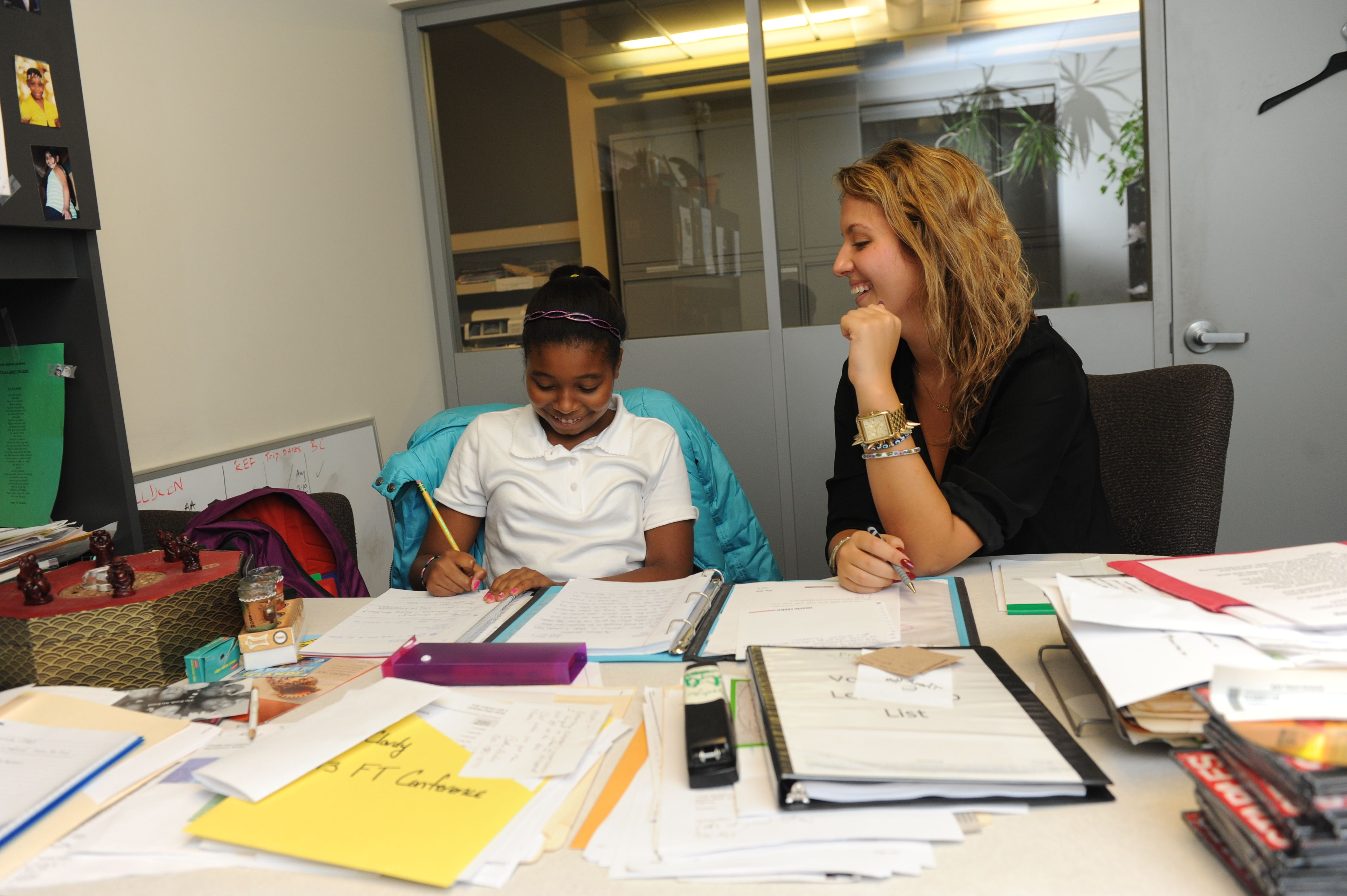 All tutoring at The Fresh Air Fund's NYC office is