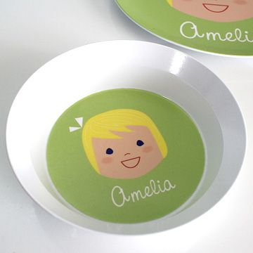 personalized kids bowls from OllieGraphic.com & personalized kids bowls from OllieGraphic.com | Personalized ...
