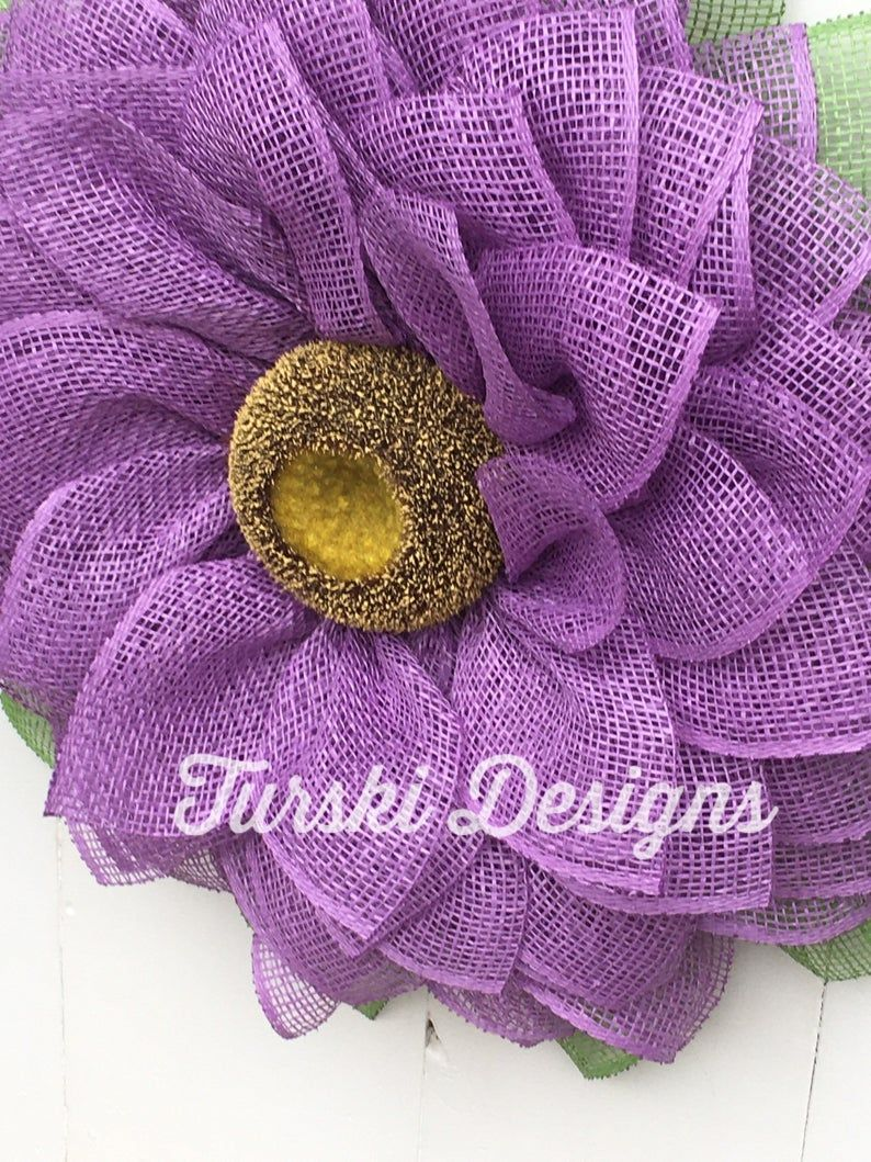 Photo of Sonnenblumenkranz, Lavendelblumenkranz, Lavendelkranz, Frühlingskranz, Kranz, Blumenkranz, Sonnenblume, Türkranz, Haustürdeko