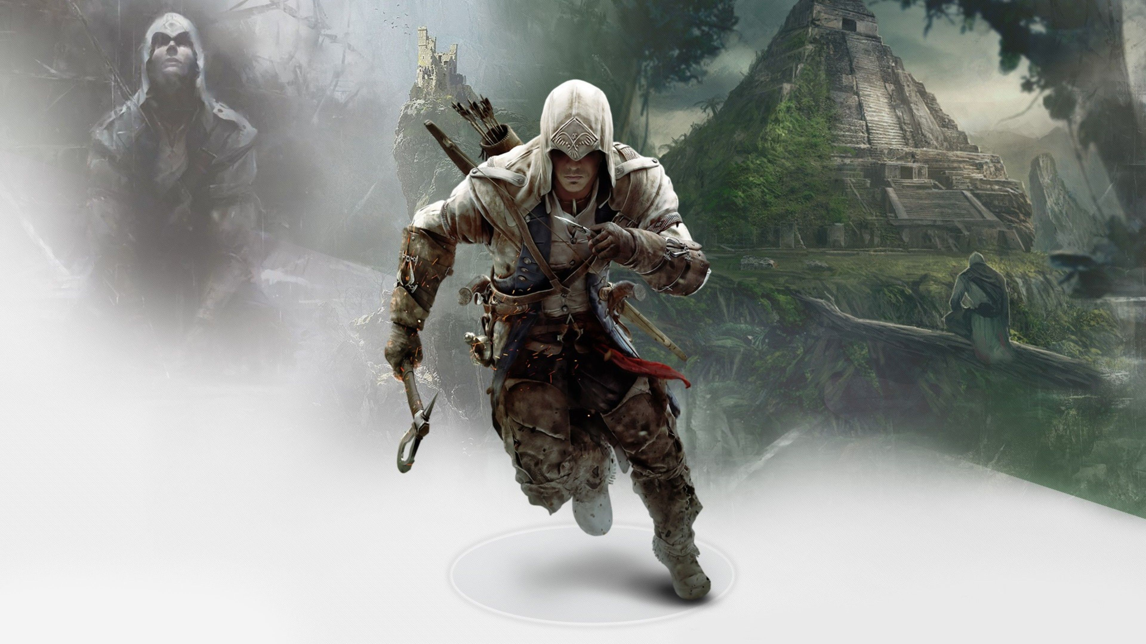 Connor In Assassins Creed 3 4k 4k Hd Wallpapers Assassins Creed 3 Assassins Creed Assassin S Creed Hd