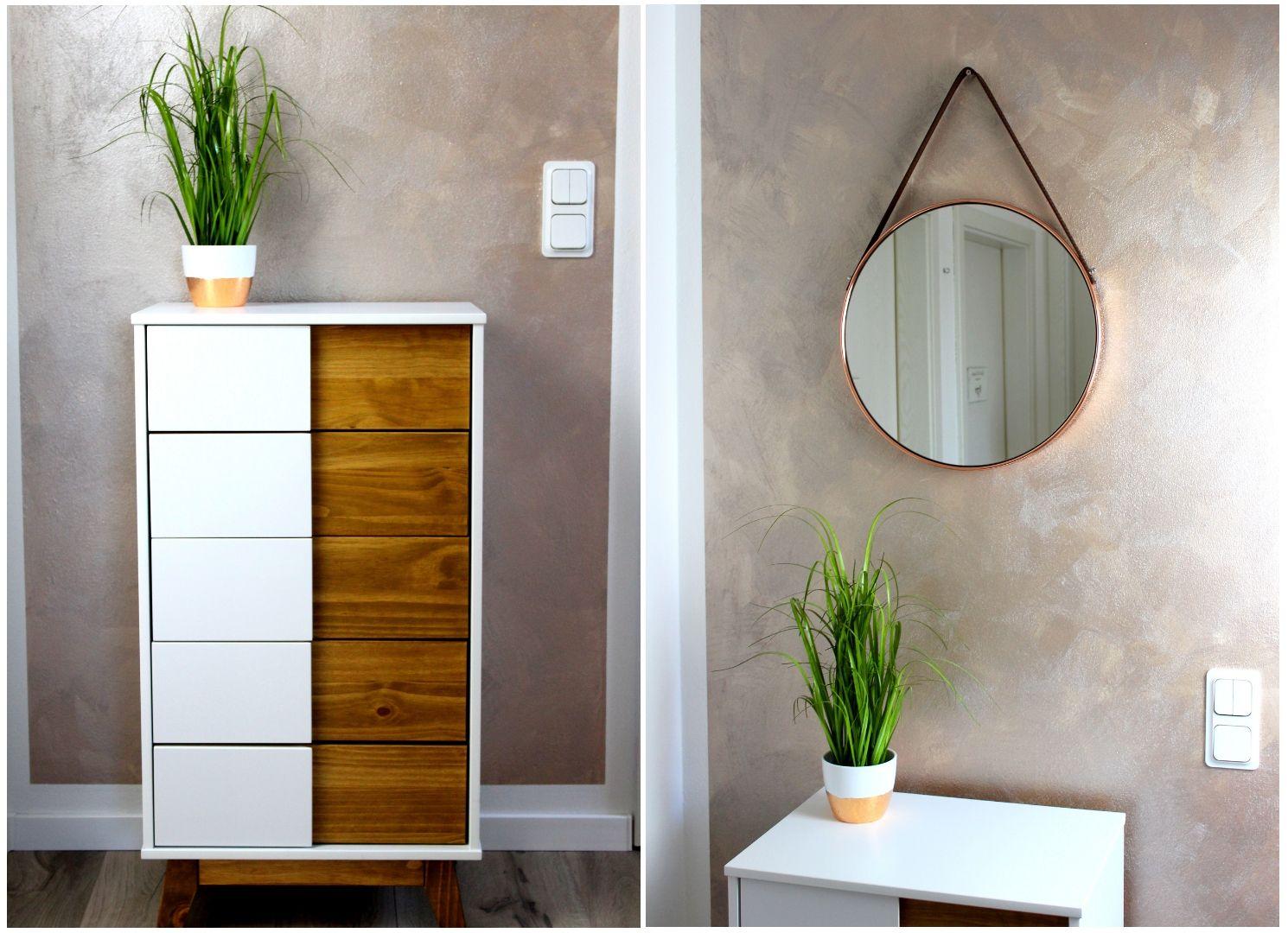 Diy Flur Make Over Inklusive Vorher Nachher Streich Tipps Wohnungsrenovierungen Wandfarbe Wohnung Renovierung