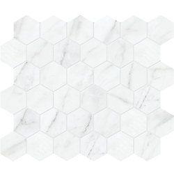 Enigma Pulpis Grey 2 Inch Hd Matte Hexagon Porcelain Mosaic Tile The Home Depot Canada Porcelain Mosaic Tile Porcelain Mosaic Mosaic Tiles