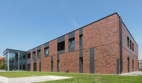 Stade Grabenweg Neubau Landesarchiv Verwaltung Archiv Nf Lubeck 30 Fassade Klinker Klinker Fassade