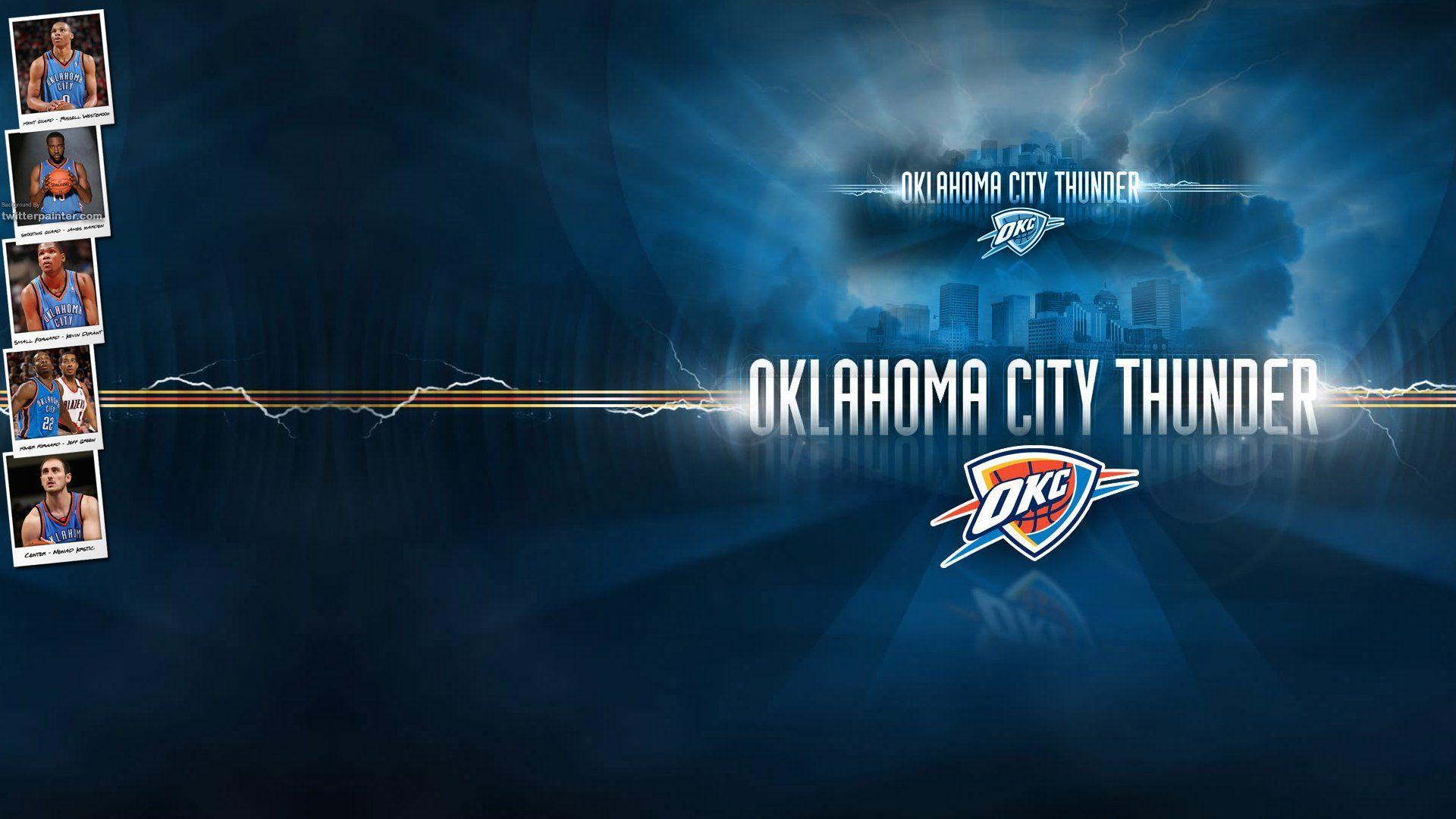 OKC Logo Wallpaper Free Download 900x675 Oklahoma Thunder Wallpapers 35