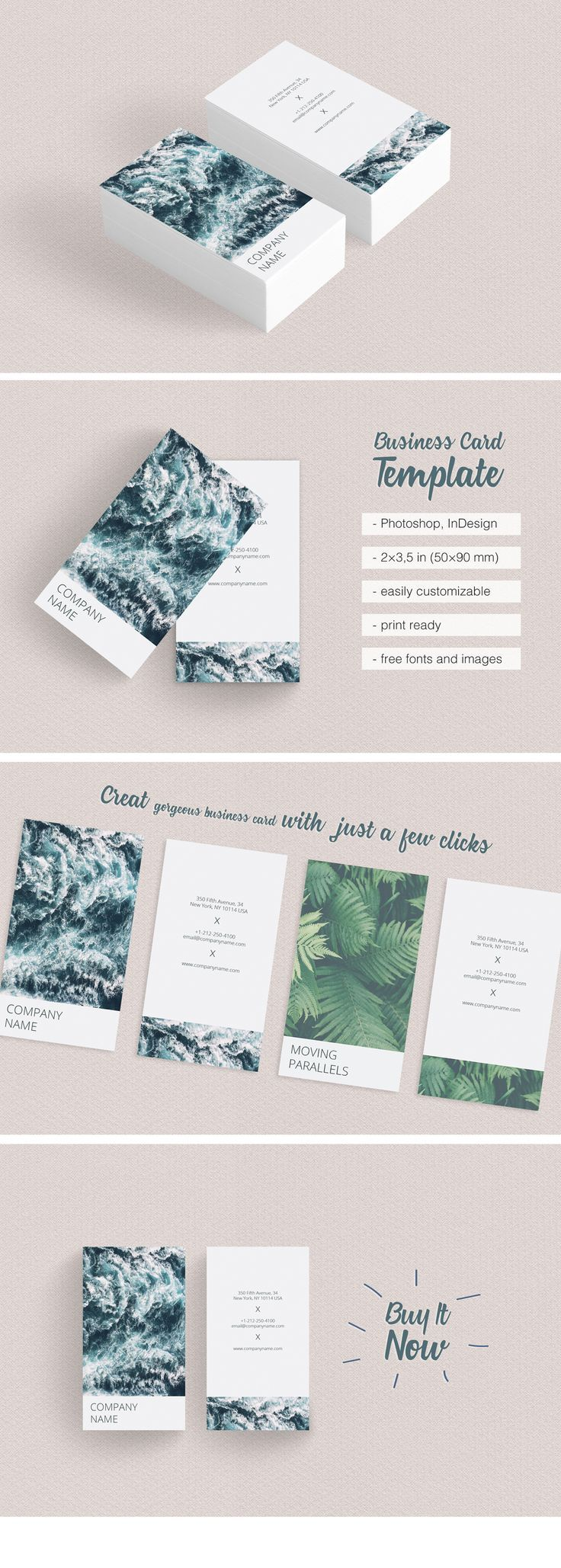 Vertical Best Photographer Business Card Just 8 It Is Creative Blue Modern And Clea Photographer Business Cards Visiting Card Templates Calling Card Design