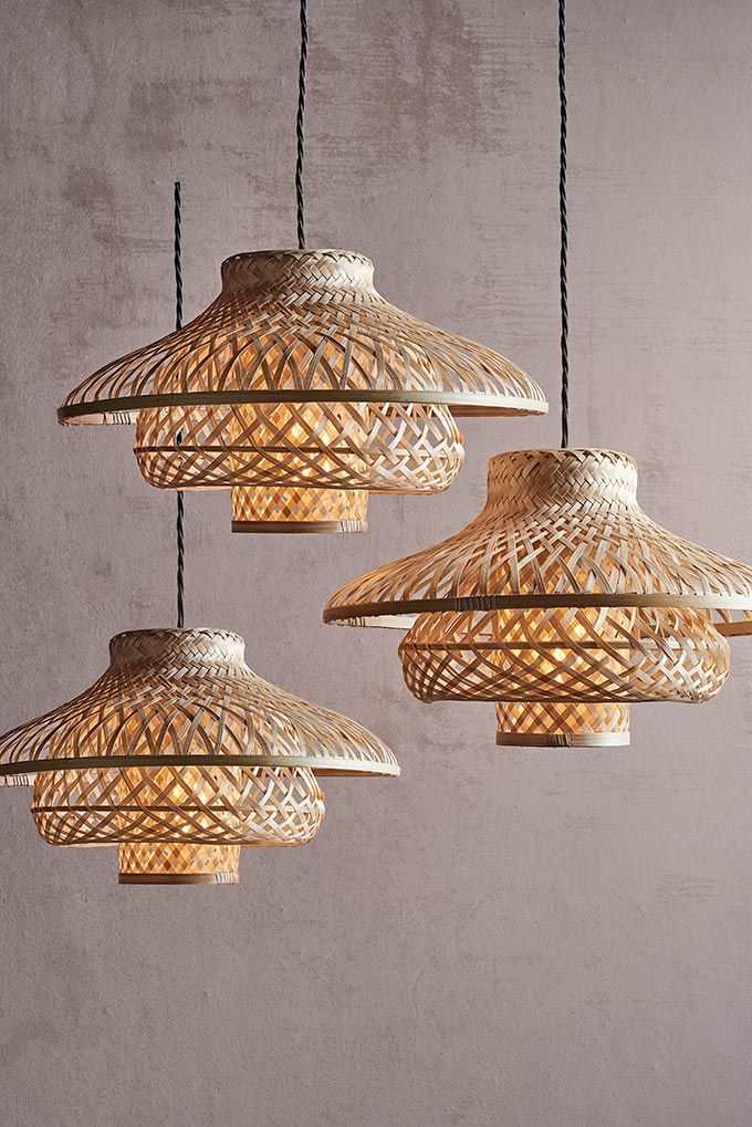 How To Do The All White Interior Design Ceiling Shades Rattan Pendant Light Rattan Lamp