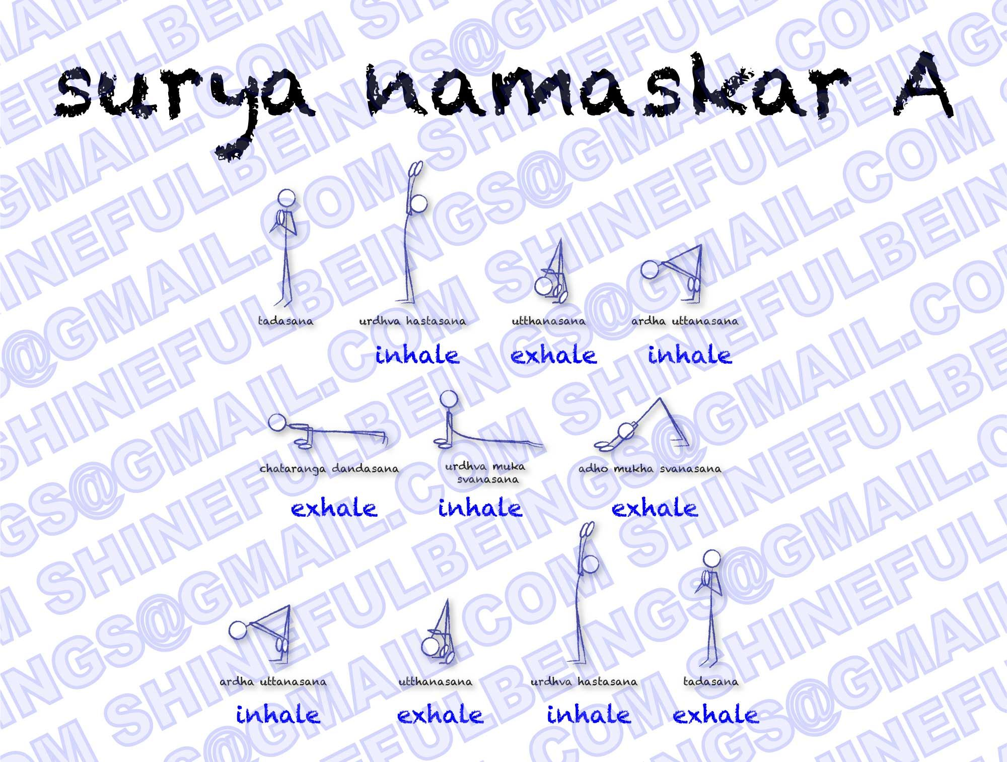Dandasana Stick Figure