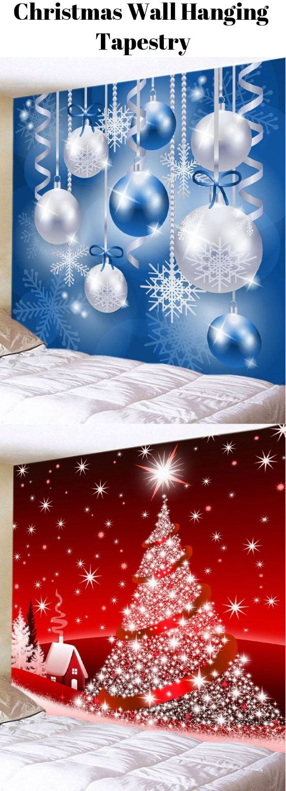 Christmas Wall Hanging Tapestry Start From 9 2 Sammydress Sammydress Com Christmas Wall Hangings Christmas Decorations Ornaments Christmas Deco