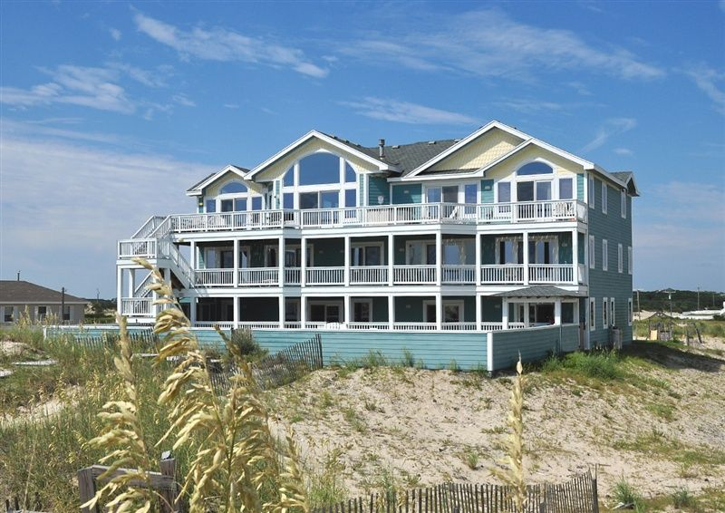 Twiddy Outer Banks Vacation Home Second Star To The Right 4x4 Oceanfront 12 Bedrooms