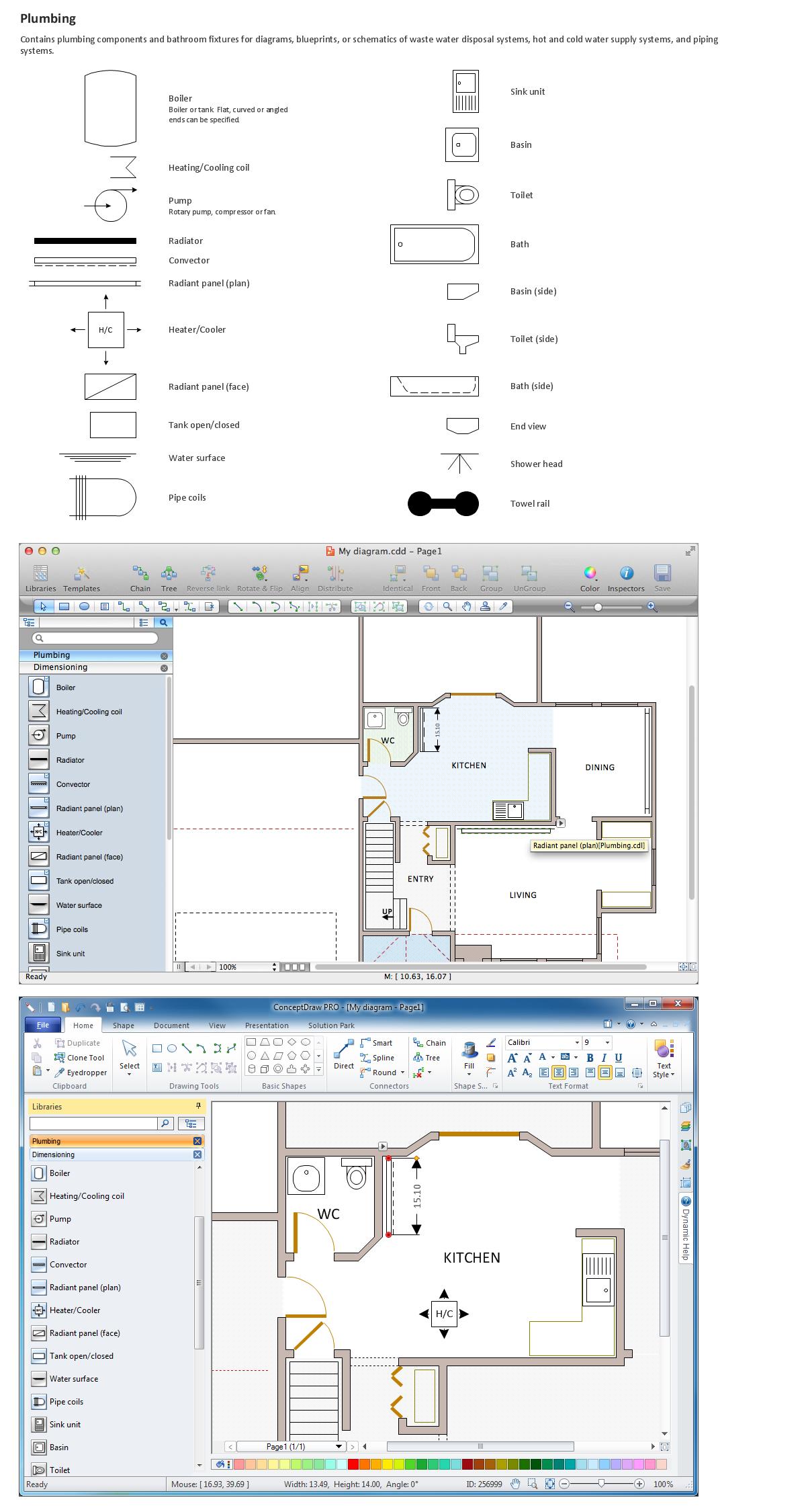 building drawing tools design elements plumbing electrical plan electrical symbols electrical diagram [ 1200 x 2250 Pixel ]