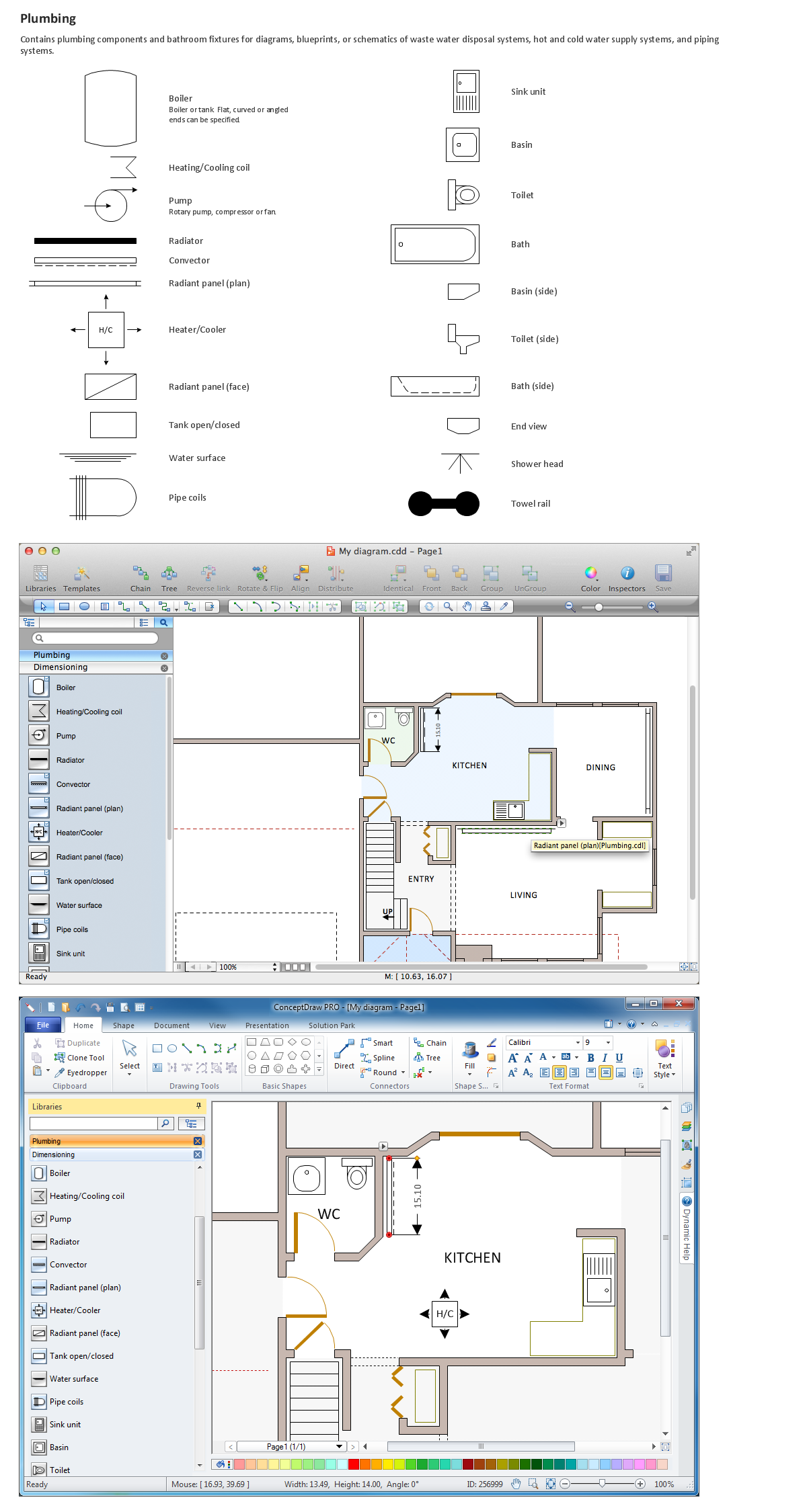 medium resolution of building drawing tools design elements plumbing lake living electrical plan program building drawing tools design elements