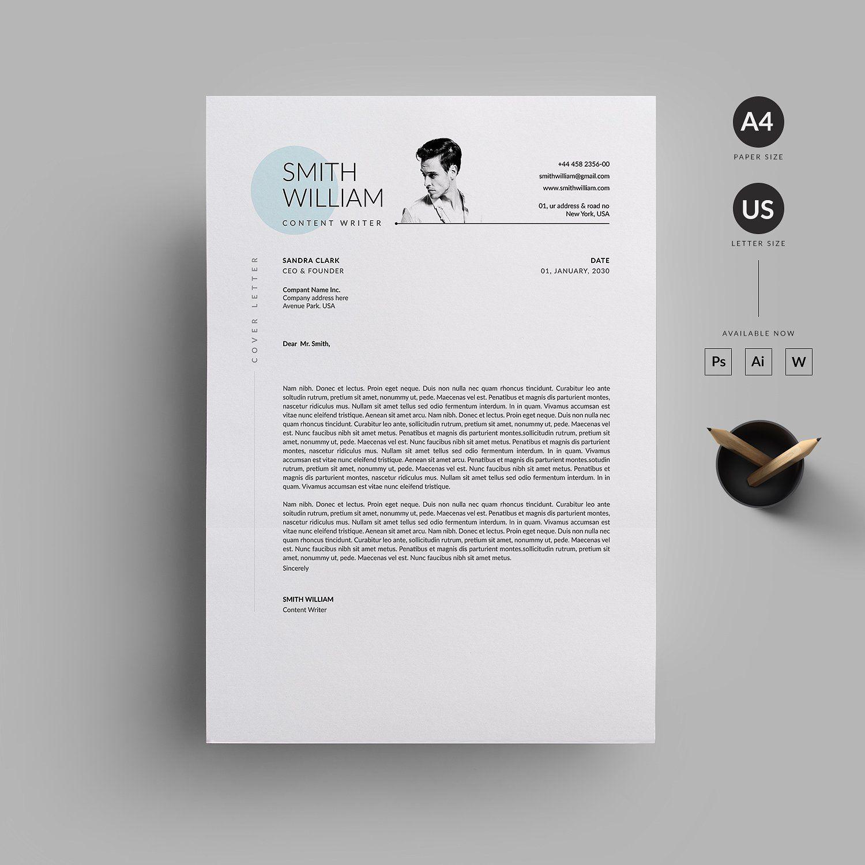 Resume/CV InchPaperSizeBleed Resume cv, Resume