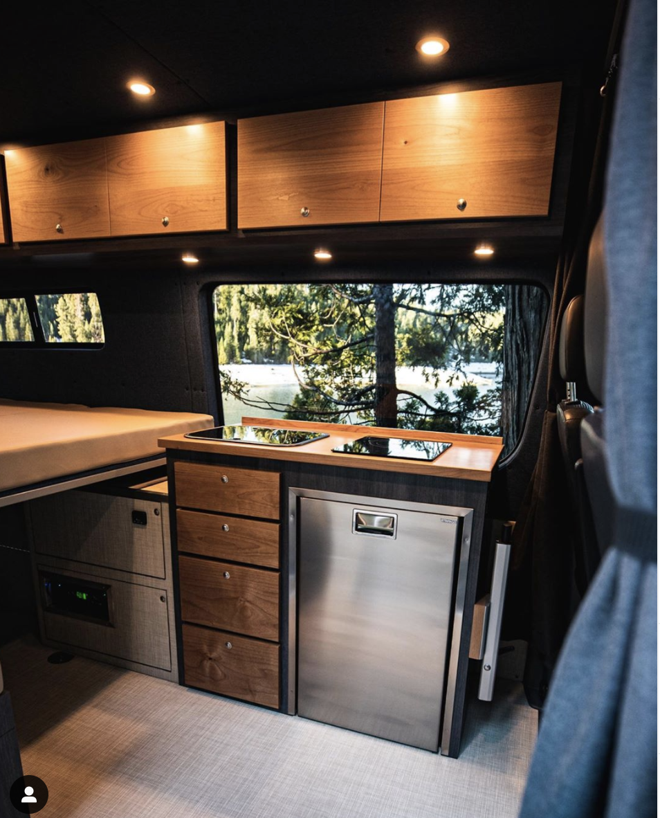 Pin by Jd Stark on Sprinter Select in 2020 | Van conversion