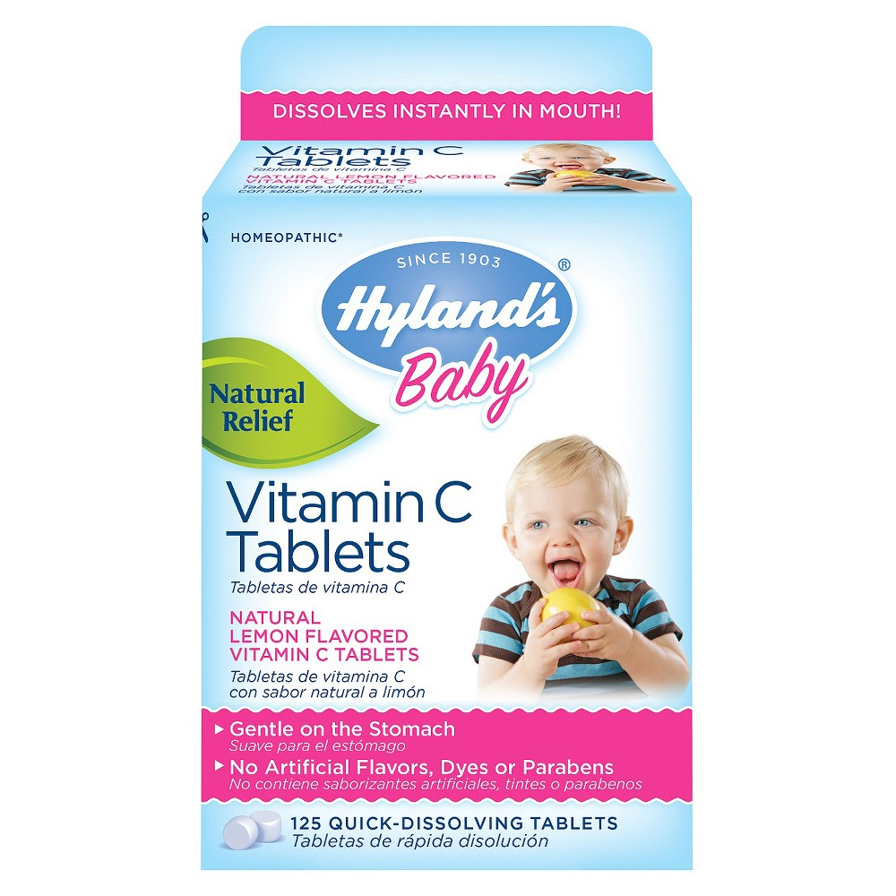 Hyland's Baby Vitamin C Tablets - 125 Count