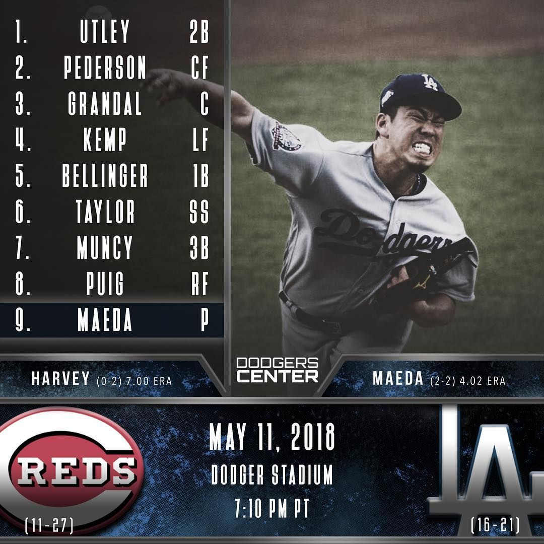 Dave Roberts Shakes Up The Lineup In The Hopes Of Getting Some Production They Will Face Matt Harvey Who Is Probably The Worst S Dodgers Harvey Dodger Stadium