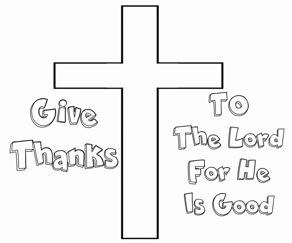 42+ In everything give thanks coloring page download HD