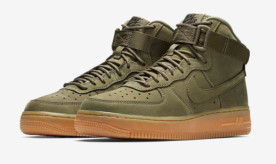 Now Available: Nike Air Force 1 High Medium Olive Gum | high