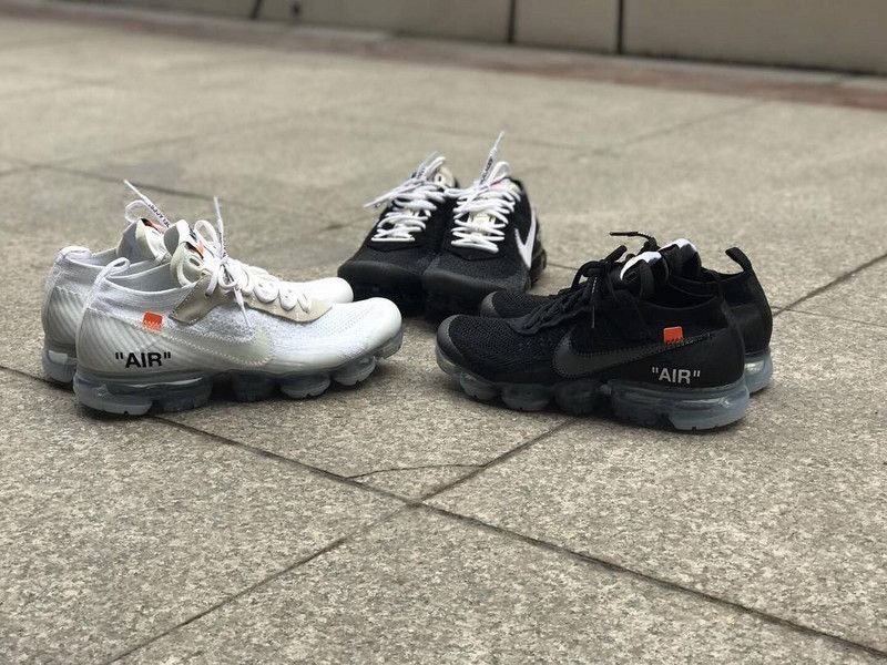 fcf1bbc635 Virgil Abloh Off-White x Nike Air VaporMax Black & White | sneakers ...
