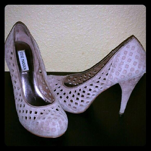 °•○FINAL SALE○•°Steve Madden pumps Re-poshing cuz just didn't fit me quite well :( Steve Madden Shoes Heels