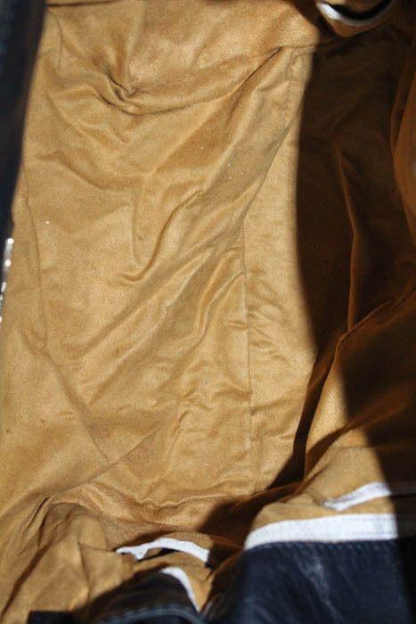 59955551da Jimmy Choo Navy Blue Leather Gold Tone Turn Lock Elsa Tote Shoulder Handbag   359.01