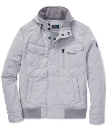 cf58fc4ca Polo Ralph Lauren Toddler Boys Quilted Jacket - Channel Grey 2 2T in ...