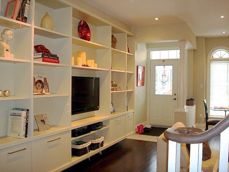 Built-in Entertainment Wall Unit- Cannot wait to do this to the 3rd ...