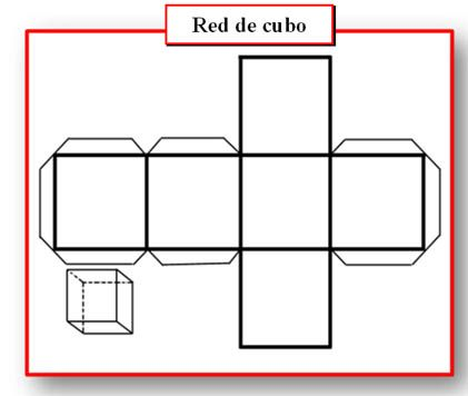 Cubo Desplegado Dibujo Tecnico